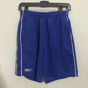 Reebok Blue Mens Athletic Shorts Size Medium